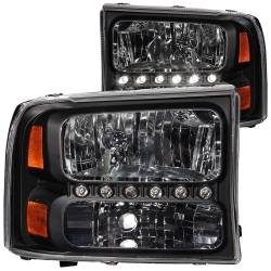 ANZO USA - ANZO USA Crystal Headlight Set 111106
