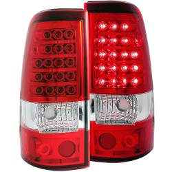6.6L LMM Lighting - Brake & Tail Lights - ANZO USA - ANZO USA Tail Light Assembly 311007