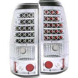 6.6L LMM Lighting - Brake & Tail Lights - ANZO USA - ANZO USA Tail Light Assembly 311008