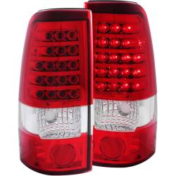 6.6L LMM Lighting - Brake & Tail Lights - ANZO USA - ANZO USA Tail Light Assembly 311010