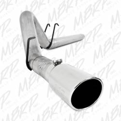 "Exhaust - Exhaust Systems - MBRP Exhaust - MBRP Exhaust 4"" Filter Back, Single Side Exit, AL S6242AL"