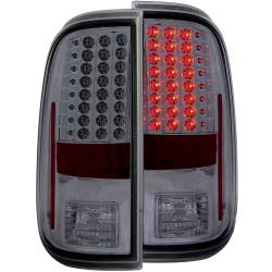 Lighting - Brake & Tail Lights - ANZO USA - ANZO USA Tail Light Assembly 311169