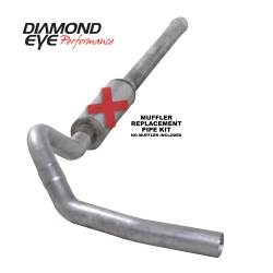6.6L LLY/LBZ Exhaust Parts - Exhaust Systems - Diamond Eye Performance - Diamond Eye Performance 2006-2007.5 CHEVY/GMC 6.6L DURAMAX 2500/3500 (ALL CAB AND BED LENGTHS) 4in. ALUM K4122A-RP