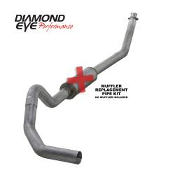 Dodge 5.9L Exhaust - Exhaust Systems - Diamond Eye Performance - Diamond Eye Performance 1994-2002 DODGE 5.9L CUMMINS 2500/3500 (ALL CAB AND BED LENGTHS)-4in. ALUMINIZED K4212A-RP