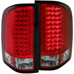 6.6L LMM Lighting - Brake & Tail Lights - ANZO USA - ANZO USA Tail Light Assembly 311047