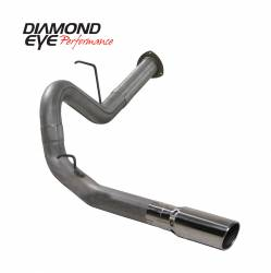 6.6L LMM Exhaust Parts - Exhaust Systems - Diamond Eye Performance - Diamond Eye Performance 2007.5-2010 CHEVY/GMC 6.6L DURAMAX 2500/3500 (ALL CAB AND BED LENGHTS) 4in. 409 K4130S