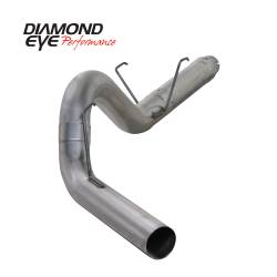 Dodge Ram 6.7L Exhaust Parts - Exhaust Systems - Diamond Eye Performance - Diamond Eye Performance 2007.5-2012 DODGE 6.7L CUMMINS 2500/3500 (ALL CAB AND BED LENGTHS) 5in. 409 STAI K5252S