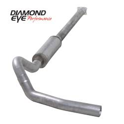Exhaust - Exhaust Systems - Diamond Eye Performance - Diamond Eye Performance 2001-2005 CHEVY/GMC 6.6L DURAMAX 2500/3500 (ALL CAB AND BED LENGHTS)-4in. ALUMIN K4110A