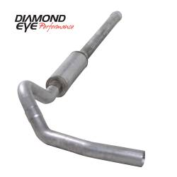 6.6L LLY/LBZ Exhaust Parts - Exhaust Systems - Diamond Eye Performance - Diamond Eye Performance 2006-2007.5 CHEVY/GMC 6.6L DURAMAX 2500/3500 (ALL CAB AND BED LENGTHS) 4in. ALUM K4122A