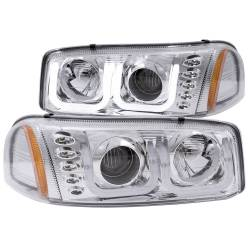 6.6L LMM Lighting - Headlights & Marker Lights - ANZO USA - ANZO USA Projector Headlight Set 111304