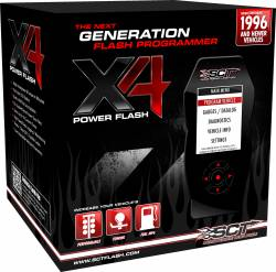 2008-2010 Ford 6.4L Powerstroke - Programmers & Tuners - SCT Performance - SCT Performance Ford X4 Power Flash Programmer #7015