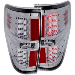 Lighting - Tail Lights - ANZO USA - ANZO USA Tail Light Assembly 09-14 F150 - 311147