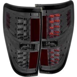 Lighting - Tail Lights - ANZO USA - ANZO USA Tail Light Assembly 09-14 F150 - Smoked - 311170
