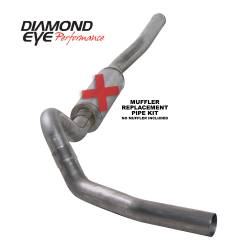 6.6L LLY/LBZ Exhaust Parts - Exhaust Systems - Diamond Eye Performance - Diamond Eye Performance 2006-2007.5 CHEVY/GMC 6.6L DURAMAX 2500/3500 (ALL CAB AND BED LENGTHS) 4in. 409 K4122S-RP