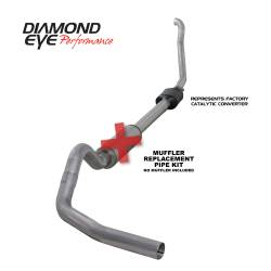 Ford OBS Exhaust Parts - Exhaust Systems - Diamond Eye Performance - Diamond Eye Performance 1994-1997.5 FORD 7.3L POWERSTROKE F250/F350 (ALL CAB AND BED LENGTHS) 4in. ALUMI K4306A-RP