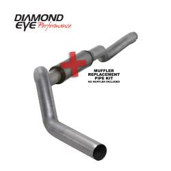 6.6L LLY/LBZ Exhaust Parts - Exhaust Systems - Diamond Eye Performance - Diamond Eye Performance 2006-2007.5 CHEVY/GMC 6.6L DURAMAX 2500/3500 (ALL CAB AND BED LENGTHS) 5in. ALUM K5126A-RP