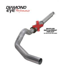 Ford OBS Exhaust Parts - Exhaust Systems - Diamond Eye Performance - Diamond Eye Performance 1994-1997.5 FORD 7.3L POWERSTROKE F250/F350 (ALL CAB AND BED LENGTHS) 5in. ALUMI K5316A-RP