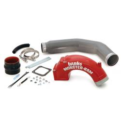 Turbo Chargers & Components - Intercoolers and Pipes - Banks Power - Banks Power Monster-Ram Intake Elbow with Boost Tube 42766