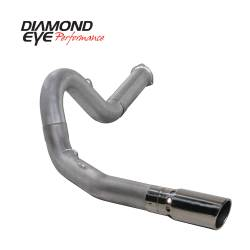 6.6L LMM Exhaust Parts - Exhaust Systems - Diamond Eye Performance - Diamond Eye Performance 2007.5-2010 CHEVY/GMC 6.6L DURAMAX 2500/3500 (ALL CAB AND BED LENGHTS) 5in. ALUM K5134A