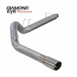 Exhaust - Exhaust Systems - Diamond Eye Performance - Diamond Eye Performance 2008-2010 FORD 6.4L POWERSTROKE F250/F350 (ALL CAB AND BED LENGTHS) 5in. ALUMINZ K5364A