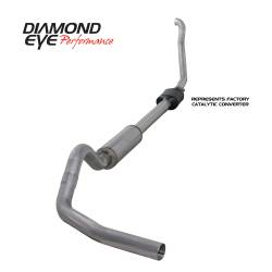 Ford OBS Exhaust Parts - Exhaust Systems - Diamond Eye Performance - Diamond Eye Performance 1994-1997.5 FORD 7.3L POWERSTROKE F250/F350 (ALL CAB AND BED LENGTHS) 4in. ALUMI K4306A