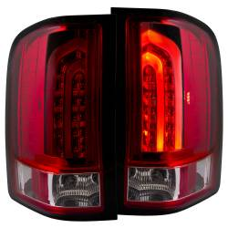 6.6L LMM Lighting - Brake & Tail Lights - ANZO USA - ANZO USA Tail Light Assembly 311225