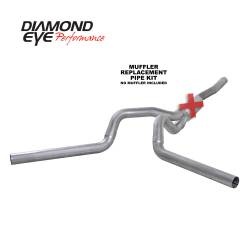 6.6L LLY/LBZ Exhaust Parts - Exhaust Systems - Diamond Eye Performance - Diamond Eye Performance 2006-2007.5 CHEVY/GMC 6.6L DURAMAX 2500/3500 (ALL CAB AND BED LENGTHS) 4in. ALUM K4124A-RP
