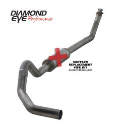 Dodge 5.9L Exhaust - Exhaust Systems - Diamond Eye Performance - Diamond Eye Performance 1994-2002 DODGE 5.9L CUMMINS 2500/3500 (ALL CAB AND BED LENGTHS)-4in. 409 STAINL K4212S-RP
