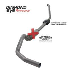 Exhaust - Exhaust Systems - Diamond Eye Performance - Diamond Eye Performance 1994-1997.5 FORD 7.3L POWERSTROKE F250/F350 (ALL CAB AND BED LENGTHS) 4in. 409 S K4306S-RP