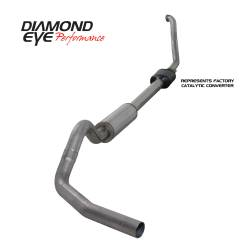 Ford OBS Exhaust Parts - Exhaust Systems - Diamond Eye Performance - Diamond Eye Performance 1994-1997.5 FORD 7.3L POWERSTROKE F250/F350 (ALL CAB AND BED LENGTHS) 4in. 409 S K4306S