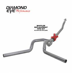 Exhaust - Exhaust Systems - Diamond Eye Performance - Diamond Eye Performance 1994-2002 DODGE 5.9L CUMMINS 2500/3500 (ALL CAB AND BED LENGTHS)-4in. ALUMINIZED K4214A-RP