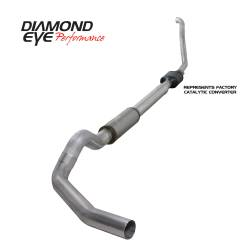 Ford OBS Exhaust Parts - Exhaust Systems - Diamond Eye Performance - Diamond Eye Performance 1994-1997.5 FORD 7.3L POWERSTROKE F250/F350 (ALL CAB AND BED LENGTHS) 5in. ALUMI K5314A