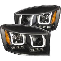 Dodge Ram 6.7L Lighting - Headlights & Marker Lights - ANZO USA - ANZO USA Projector Headlight Set 111314
