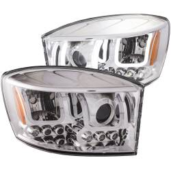 Dodge Ram 6.7L Lighting - Headlights & Marker Lights - ANZO USA - ANZO USA Projector Headlight Set 111315