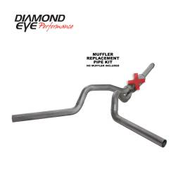 Ford OBS Exhaust Parts - Exhaust Systems - Diamond Eye Performance - Diamond Eye Performance 1994-1997.5 FORD 7.3L POWERSTROKE F250/F350 (ALL CAB AND BED LENGTHS) 4in. 409 S K4312S-RP