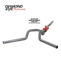 6.6L LLY/LBZ Exhaust Parts - Exhaust Systems - Diamond Eye Performance - Diamond Eye Performance 2006-2007.5 CHEVY/GMC 6.6L DURAMAX 2500/3500 (ALL CAB AND BED LENGTHS) 4in. 409 K4124S-RP