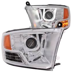 Dodge Ram 6.7L Lighting - Headlights & Marker Lights - ANZO USA - ANZO USA Projector Headlight Set 111269