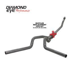 Exhaust - Exhaust Systems - Diamond Eye Performance - Diamond Eye Performance 1994-2002 DODGE 5.9L CUMMINS 2500/3500 (ALL CAB AND BED LENGTHS)-4in. 409 STAINL K4214S-RP