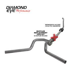 Ford OBS Exhaust Parts - Exhaust Systems - Diamond Eye Performance - Diamond Eye Performance 1994-1997.5 FORD 7.3L POWERSTROKE F250/F350 (ALL CAB AND BED LENGTHS) 4in. 409 S K4308S-RP
