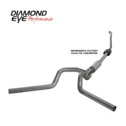 Ford OBS Exhaust Parts - Exhaust Systems - Diamond Eye Performance - Diamond Eye Performance 1994-1997.5 FORD 7.3L POWERSTROKE F250/F350 (ALL CAB AND BED LENGTHS) 4in. 409 S K4308S