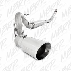 "Dodge 5.9L Exhaust - Exhaust Systems - MBRP Exhaust - MBRP Exhaust 4"" Turbo Back, Single Side (94-97 Hanger HG6100 req.), T304"