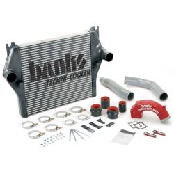 2003-2007 Dodge 5.9L 24V Cummins - Air Intakes & Accessories - Banks Power - Banks Power Techni-Cooler  Intercooler System with Monster-Ram and Boost Tubes 25980