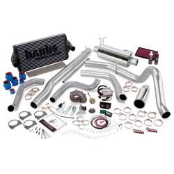 1999-2003 Ford 7.3L Powerstroke Parts - Ford 7.3L Performance Bundles - Banks Power - Banks Power PowerPack Bundle, Complete Power System with Single Exit Exhaust, Chrome Tip 47573