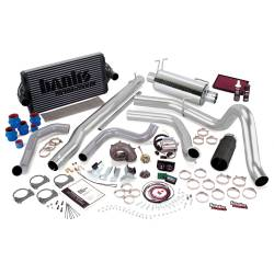 1999-2003 Ford 7.3L Powerstroke Parts - Ford 7.3L Performance Bundles - Banks Power - Banks Power PowerPack Bundle, Complete Power System with Single Exit Exhaust, Black Tip 47573-B