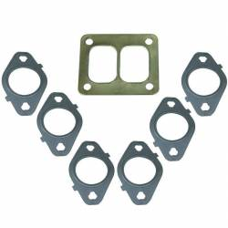 2007.5-2018 Dodge 6.7L 24V Cummins - Exhaust - BD Diesel - BD Diesel Gasket Set, Exhaust Manifold T4 Mount -  Dodge 1998.5-2017 5.9L/6.7L 1045986-T4