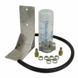6.6L LML Fuel System & Components - Fuel Supply Parts - BD Diesel - BD Diesel Remote Fuel Filter Kit - 2001-2012 Chevy Duramax 1050060