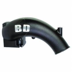 1998.5-2002 Dodge 5.9L 24V Cummins - Engine Parts - BD Diesel - BD Diesel X-Flow Power Intake Elbow (Black) - Dodge 1998-2002 5.9L 24-valve 1041550