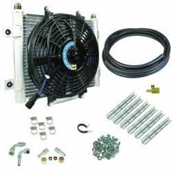 Transmission - Automatic Transmission Parts - BD Diesel - BD Diesel Xtruded Trans Oil Cooler - 5/16 inch Cooler Lines 1030606-5/16
