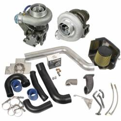 1998.5-2002 Dodge 5.9L 24V Cummins - Turbo Chargers & Components - BD Diesel - BD Diesel Super B Twin Turbo Kit w/FMW Billet Wheel on Secondary - Dodge 98.5-02 24-valve 1045320