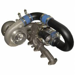 1998.5-2002 Dodge 5.9L 24V Cummins - Turbo Chargers & Components - BD Diesel - BD Diesel R700 Tow & Track Turbo Kit w/FMW Billet Wheel on Secondary - Dodge 98-02 24-vlv 1045420